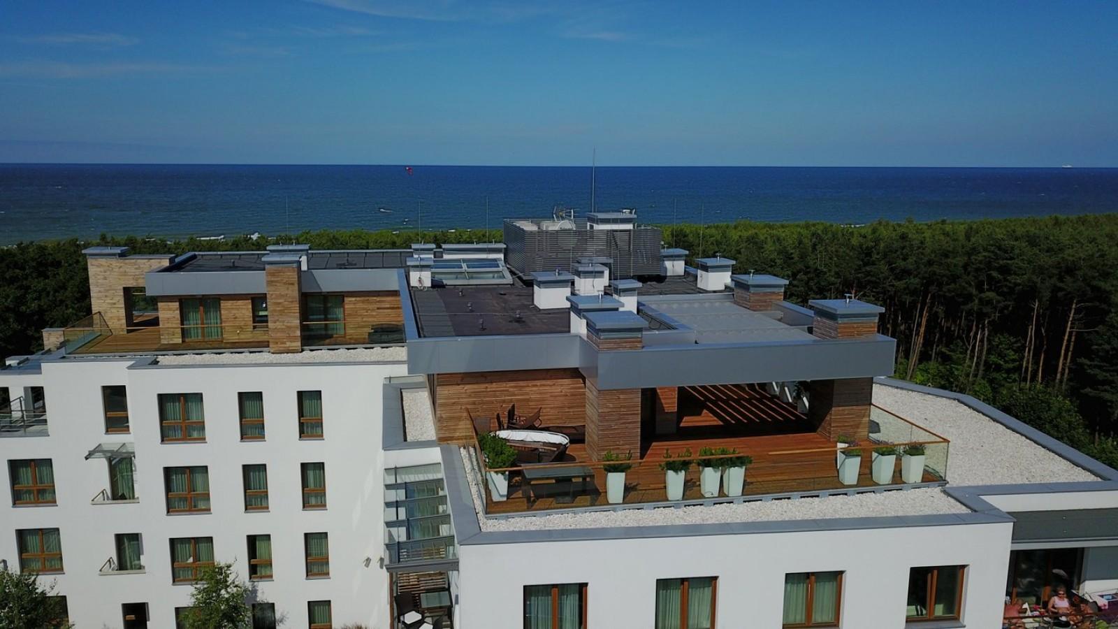 Penthouse Gwiazda Północy - zaledwie 30 metrów od plaży