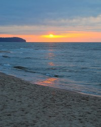 Apartamenty.in | morze przed zachodzie słońca we Władysławowie