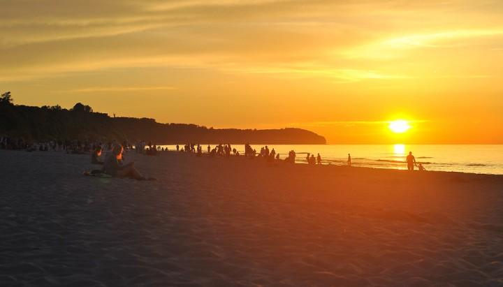 Apartamenty.in | zachód słońca, plaża, Władysławowo