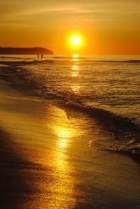 Apartamenty.in | zachód słońca, plaża w Chałupach