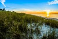 Apartamenty.in | zachód słońca, plaża w Dębkach