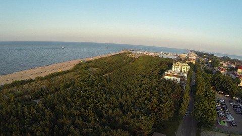 Apartamenty Gwiazda Północy - Władysławowo - lasek sosnowy  i morze